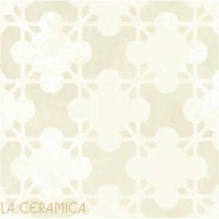 Керамическая плитка Mutina AZULEJ (20*20) Estrela Bianco
