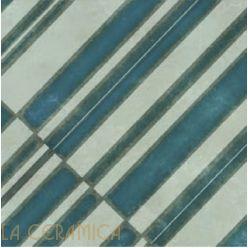 Керамическая плитка Mutina AZULEJ (20*20) Diagonal Grigio