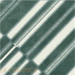 Керамическая плитка Mutina AZULEJ (20*20) Diagonal Nero