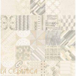 Керамическая плитка Mutina AZULEJ (20*20) Combination Bianco
