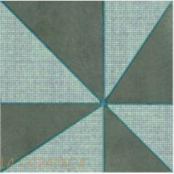 Керамическая плитка Mutina AZULEJ (20*20) Gira Grigio