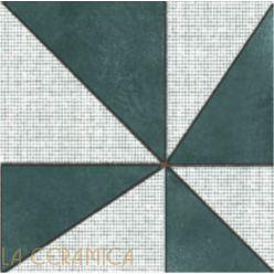 Керамическая плитка Mutina AZULEJ (20*20) Gira Nero