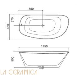 Ванна REXA Design Fonte 24FO1021