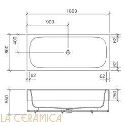 Ванна REXA Design R1 28R10022
