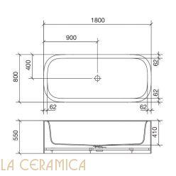 Ванна REXA Design R1 24R11022