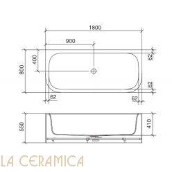 Ванна REXA Design R1 24R12022
