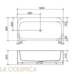Ванна REXA Design R1 24R11032