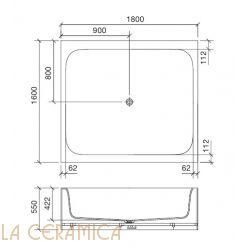 Ванна REXA Design R1 26R13092