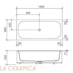 Ванна REXA Design R1 29R10022