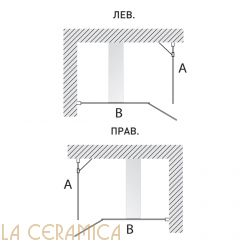 Душевая Кабина Hafro Geromin Bristol Box 5 (Угловая) 1BSE7S0