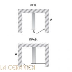 Душевая Кабина Hafro Geromin Bristol Box 8 (В нишу) 1BSL4S0