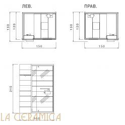 Баня Saunavita Ghibli SSAGH4A4 (Углавая)