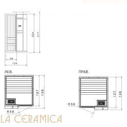 Баня Saunavita Talia SSATL1G2