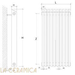 Радиатор Scirocco Linea