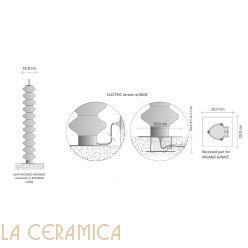 Дизайнерский радиатор Tubes Milano 170BAELI